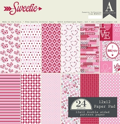 Authentique - Sweetie Collection - 12x12 paper pad