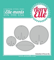 Avery Elle - Elle-ments Dies - Embellish It Flower