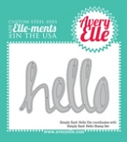 Avery Elle - Elle-ments Dies - Simply Said Hello