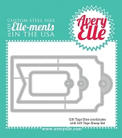 Avery Elle - Elle-ments Dies - Gift Tags