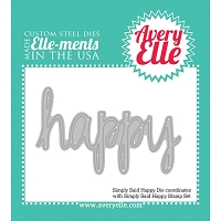 Avery Elle - Elle-ments Dies - Simply Said Happy