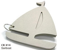 Best Creation - Chipboard Book - Sailboat