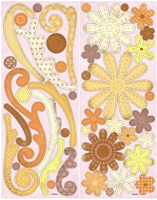 Best Creation - Chipboard Shapes - Earth Floral/Swirl
