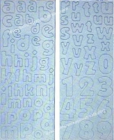 Best Creation - Chipboard Shapes - Lowercase Plain Alphabet