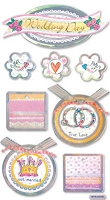 Best Creation - Metal Tag Stickers - Wedding Day