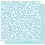 Best Creations-Patterned Glitter Cardstock-Sky Swirl