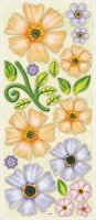 Best Creation - Dimensional Stickers - Floral