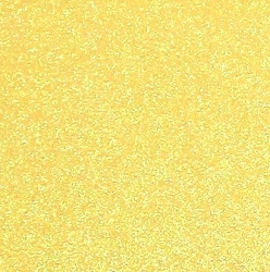 Best Creation Solid Glitter Cardstock - Yellow