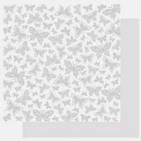 Best Creations-Basic Glitter Paper-Butterfly Kisses (**Note:  Pattern is white glitter on white background.  We darkened the image so you could see the pattern**)