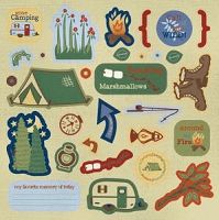Best Creation - Gone Camping - Expressions Chipboard