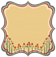 Best Creation - Gone Camping - Wild Flowers Die Cut