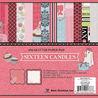 Best Creation - Sixteen Candles Collection - 6X6 Pad