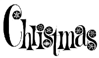 B-Line Designs - Cling Stamp - Christmas