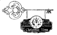 B-Line Designs - Cling Stamp - Christmas Time