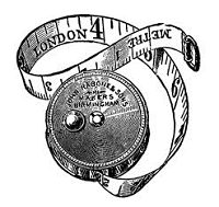 B-Line Designs - Cling Stamp - London Measures