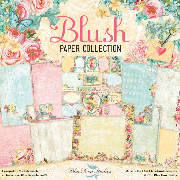Blue Fern - Blush Collection