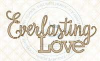 Blue Fern Studios - Chipboard - Everlasting Love