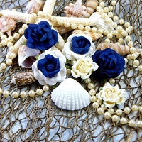 Blue Fern Studios - Seaside Cottage Collection - Seaside Roses