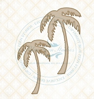Blue Fern Studios - Chipboard - Palm Trees