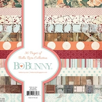 Bo Bunny - Bella Rosa Collection - 6x6 Paper Pad