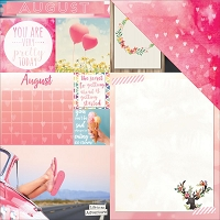 Bo Bunny - Calendar Girl Collection - August 12