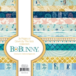 Bo Bunny - Down By The Sea Collection - 6x6 Paper Pad