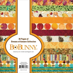 Bo Bunny - Dreams of Autumn Collection - 6x6 Paper Pad