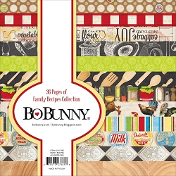 Bo Bunny - Family Recipes Collection - 6x6 Paper Pad