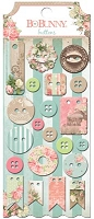 Bo Bunny - Soiree Collection - Buttons