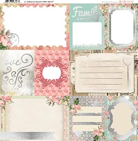 Bo Bunny - Soiree Collection - Foil Vellum 12
