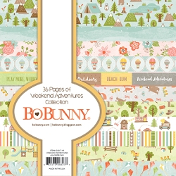 Bo Bunny - Weekend Adventures Collection - 6x6 Paper Pad