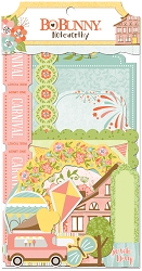 Bo Bunny - Weekend Adventures Collection - Noteworthy Die-Cuts