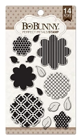 Bo Bunny - Clear Stamp - Perfect Petals Stamp
