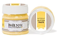 Bo Bunny - Double Dot Glitter Paste - Buttercup Glitter Paste
