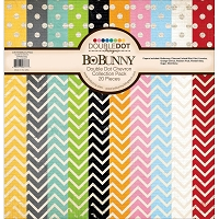 Bo Bunny - Double Dot Collection Pack - Chevron