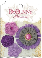 Bo Bunny - Blossoms - Plum Purple Dahlia