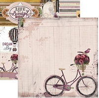Bo Bunny - Beautiful Dreamer Collection - Bicycle 12