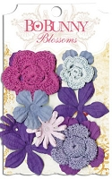 Bo Bunny - Blossoms - Bouquet - Plum Purple