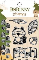 Bo Bunny - Camp-A-Lot Collection - Clear Stamp