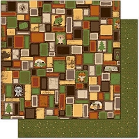 Bo Bunny - Camp-A-Lot Collection - 12X12 Paper - Squares
