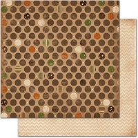 Bo Bunny - Camp-A-Lot Collection - 12X12 Paper - Dot