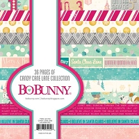 Bo Bunny - Candy Cane Lane Collection - 6x6 Paper Pads