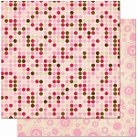 Bo Bunny Crazy Love - Double Sided Paper - Dot