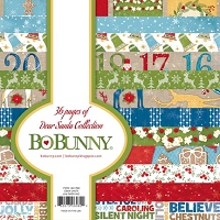 Bo Bunny - Dear Santa Collection - 6x6 Paper Pads