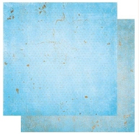 Bo-Bunny - Double Dot Cardstock - Powder Blue Vintage