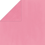 Bo-Bunny - Double Dot Cardstock - Blush Dot