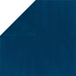 Bo-Bunny - Double Dot Cardstock - Dark Denim Dot