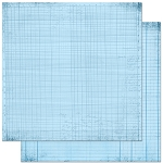 Bo-Bunny - Double Dot Cardstock - Powder Blue Journal