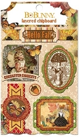 Bo Bunny - Enchanted Harvest Collection - Layered Chipboard