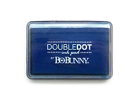 Bo Bunny - Double Dot Pigment Ink Pad - Blueberry Ink Pad